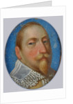 Miniature of Gustav II Adolf, King of Sweden by Anonymous
