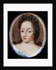 Miniature of Queen Ulrika Eleonora the Elder of Sweden by Erik Utterhielm