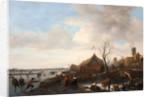Winter Scene by Jan Havicksz. Steen