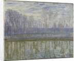 On the Shores of the Loing by Alfred Sisley