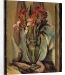 Flowers in a Handled Vase, 1919-22 by Edward Middleton Manigault