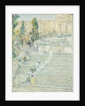 The Spanish Stairs, Rome, 1897 By Childe Hassam. Framed Picture