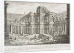 Ancient Forum Surrounded by Porticoes, c.1743 by Giovanni Battista Piranesi