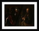 Denial of St Peter, c.1610 by Michelangelo Merisi da Caravaggio