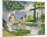Bathers, 1874-75 by Paul Cezanne