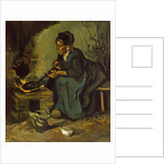 Peasant Woman Cooking by a Fireplace, 1885 by Vincent van Gogh