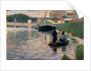 View of the Seine, 1882-83 by Georges Pierre Seurat