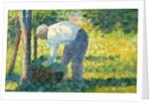 The Gardener, 1882-83 by Georges Pierre Seurat