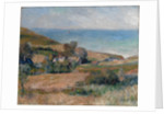 View of the Seacoast near Wargemont in Normandy, 1880 by Pierre Auguste Renoir