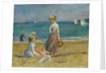Figures on the Beach, 1890 by Pierre Auguste Renoir