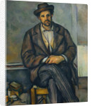 Seated Peasant, c.1892-96 by Paul Cezanne
