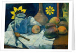 Still Life with Teapot and Fruit, 1896 by Paul Gauguin