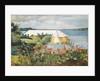 Flower Garden and Bungalow, Bermuda, 1899 by Winslow Homer