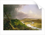 View from Mount Holyoke, Northampton, Massachusetts, after a Thunderstorm—The Oxbow, 1836 by Thomas Cole