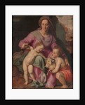 Madonna and Child with the Infant Saint John the Baptist, c.1572 by Santi di Tito