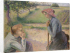 Two Young Peasant Women, 1891-92 by Camille Pissarro