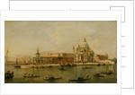 Venice: The Dogana and Santa Maria della Salute by Francesco Guardi