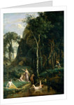Diana and Actaeon, 1836 by Jean Baptiste Camille Corot