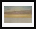 Sunset Sky, 1872 by John Frederick Kensett