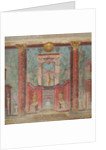 Wall painting from the cubiculum of a villa at Boscoreale, c.50-40 B.C by Roman Republican Period