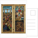 The Crucifixion; The Last Judgment, c.1440-41 by Jan van Eyck