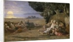 Sleep, c.1867-70 by Pierre Puvis de Chavannes