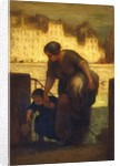 The Laundress, c.1863 by Honore Daumier
