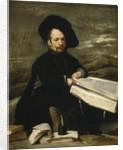 Portrait of the jester Diego de Acedo, called 'el Primo', 1644 by Diego Rodriguez de Silva y Velazquez