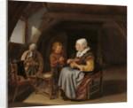 Saying Grace, c.1650-55 by Frans van Mieris