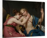 The Farewell of Telemachus and Eucharis, 1818 by Jacques Louis David