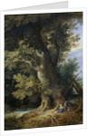 Rest on the Flight into Egypt, 1600-99 by Jan the Elder Brueghel