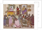 Dancing People: Candombe, c.1920 by Pedro Figari
