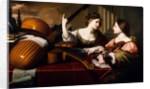Divine Inspiration of Music, c.1640 by Nicolas Regnier