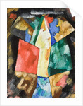 Abstraction; Blue, Yellow and Green, c.1913 by Marsden Hartley
