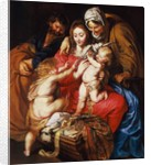 The Holy Family with St Elizabeth, St John and a Dove, c.1609 by Peter Paul Rubens