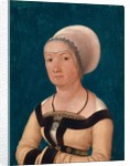 Portrait of the Wife of Jörg Fischer at Age 34, 1512 by Hans Holbein the Elder