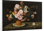 Bouquet of Asters, 1859 by Gustave Courbet