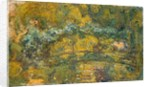 The Footbridge over the Water-Lily Pond, 1919 by Claude Monet