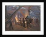 Burmeister and Wain Iron Foundry, 1885 by Peder Severin Kroyer