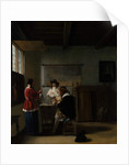 The Visit, c.1657 by Pieter de Hooch