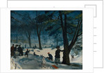 Central Park, Winter, c.1905 by William James Glackens