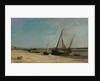 Boats on the Seacoast at Étaples, 1871 by Charles Francois Daubigny