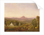 Autumn Landscape, Sugar Loaf Mountain, Orange County, New York, c.1870-75 by Jasper Francis Cropsey
