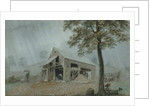 Rainstorm, Cider Mill at Redding, Connecticut, c.1840 by George Harvey