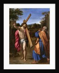 Christ Appearing to St. Peter on the Appian Way, 1601-02 by Annibale Carracci