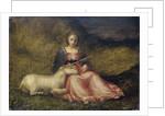 Woman with Unicorn by Italian School