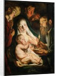 The Holy Family with Shepherds, 1616 by Jacob Jordaens