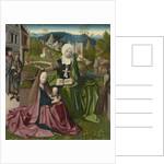 Virgin and Child with Saint Anne, c.1495 by Netherlandish School