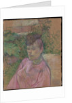 Woman in the Garden of Monsieur Forest, 1889-91 by Henri de Toulouse-Lautrec