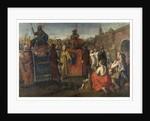 A Roman Triumphal Parade, 1641 by Simon Peter Tilemann